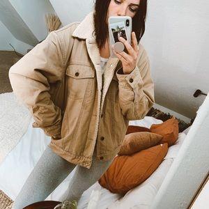 Vintage Oversized Sherpa Jacket